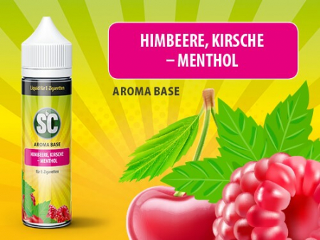 Shake and Vape Himbeere-Kirsche-Menthol 0mg/ml 50ML