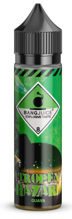 Bang-Jucie Shake and Vape Tropenhazard Guave 0mg/ml 15ML