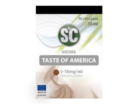 SC-Liquid Taste of America Tabak mit 6mg/ml Nikotin